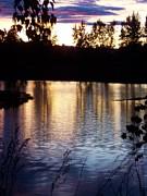 Deahn      Benware - Sunset on River