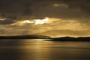 Gabor Pozsgai Metal Prints - Sunset on Skye Metal Print by Gabor Pozsgai