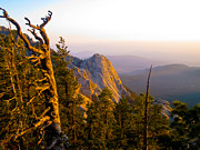 Pacific Crest Trail Prints - Sunset on Tahquitz Print by Keith Ducker