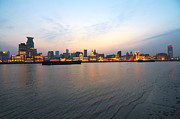 Bund Photos - Sunset On The Bund by Photo by Svend Erik Hansen