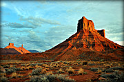 Marty Koch Art - Sunset On The Mesa by Marty Koch