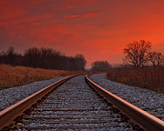 Mike Murray - Sunset on the Rails