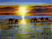 Susan McLean Gray - Sunset on the Top End