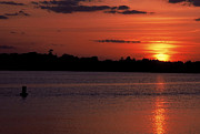 Most Photo Posters - Sunset on Wayzata Bay Poster by Richard Johnson