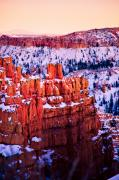 Hoodoo Prints - Sunset Over a Hoodoo Nation I Print by Irene Abdou