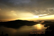 Awesome Originals - Sunset over Hawns Overlook Raystown Lake by L Granville Laird