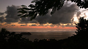 Manuel Framed Prints - Sunset over Manuel Antonio Framed Print by Matt Tilghman