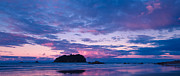 Stock Framed Prints - Sunset over Motuotau Island Framed Print by John Buxton