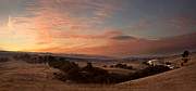 Arastradero Preserve Framed Prints - Sunset over separate worlds Framed Print by Matt Tilghman