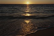 Atlantic Beaches Posters - Sunset Over The Atlantic Ocean Poster by Todd Gipstein