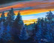 Wes Loper - Sunset Over The Cedars