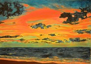 Bhvinder Kaur Sidhu - Sunset painting