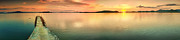 Tropical Sunset Prints - Sunset panorama Print by MotHaiBaPhoto Prints