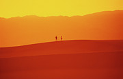 Death Valley Dunes. The Race Track Posters - Sunset Serenade Poster by Bob Christopher