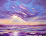 Sunset Posters Originals - Sunset Spectacular by Gina De Gorna