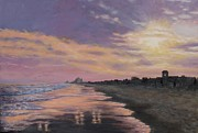 Kathleen McDermott - Sunset Surf Reflections