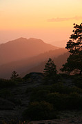 Sequoia National Park Prints - Sunset Print by Timothy Johnson