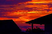 Photohog Prints - Sunset Va 4736 Print by PhotohogDesigns