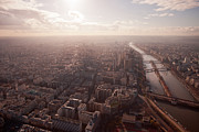 Development Of Life Photos - Sunset View Over Paris by Nico De Pasquale Photography