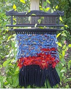 Loom Tapestries - Textiles - Sunset Weaving by Kay Shaffer