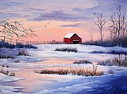 Alex Izatt - Sunset Winter Dream