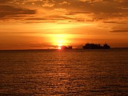 Zulfidar Aiyub - Sunset With Ship