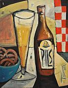 Bistro Paintings - Sunshine And Hops by Tim Nyberg
