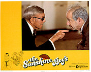Arguing Prints - Sunshine Boys, The, George Burns Print by Everett