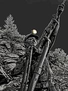 Sunshine Silver Mine Memorial - Kellogg Idaho Print by Daniel Hagerman