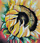 Panel Drawings - Sunspots by Amanda  Sanford