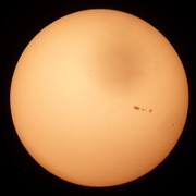 George Leask Art - Sunspots by George Leask