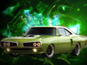 Hot Rod Digital Art - Super Bee by Kenneth Lambert