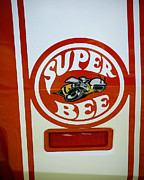 Dodge Super Bee Logo Posters - Super Bee Logo Poster by Steve McKinzie
