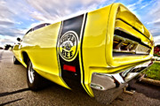 Hemi Metal Prints - Super Close Super Bee  Metal Print by Gordon Dean II