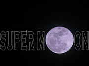 Occurrence Prints - Super Moon Print by Deborah Willard