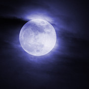Full Moon Art - Super Moon by Ernie Echols