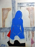 Super Hero Mixed Media - Super Nude by Paul Bokvel Smit
