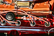Hemi Metal Prints - Super Stock SS 426 III HEMI Motor Metal Print by Gordon Dean II