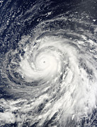 Natural Disasters Art - Super Typhoon Choi-wan Over The Mariana by Stocktrek Images
