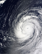 Disasters Natural Prints - Super Typhoon Choi-wan West Print by Stocktrek Images