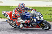 Kahuna Photos - Superbike Racer I by Clarence Holmes