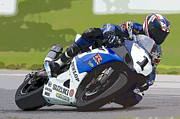 Kahuna Photos - Superbike Racer III by Clarence Holmes