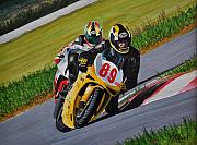 Superbikes Print by Kenneth M  Kirsch