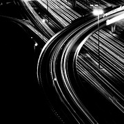 United Arab Emirates Prints - Superhighway Print by Andy Teo aka Photocillin