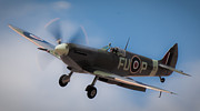 Spitfire Photos - Supermarine Spitfire by Michael Wignall