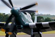 Spitfire Photos - Supermarine spitfire mk21 by Ken Brannen