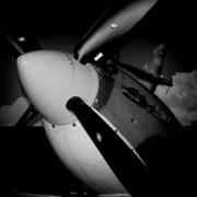 Supermarine Spitfire Mk.ix Print by David Patterson