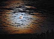 Howl Prints - Supermoon Print by Brian Mollenkopf