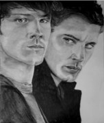 Supernatural Drawings - Supernatural by Wendy Rodgers