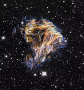 Expanding Posters - Supernova Remnant Lmc N 49 Poster by Nasaesastscihubble Heritage Team